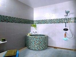 desain kamar mandi minimalis kloset jongkok shower 4