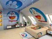 Desain Kamar Tidur Doraemon Yang Imut