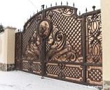 Pintu Besi Tempa Mewah