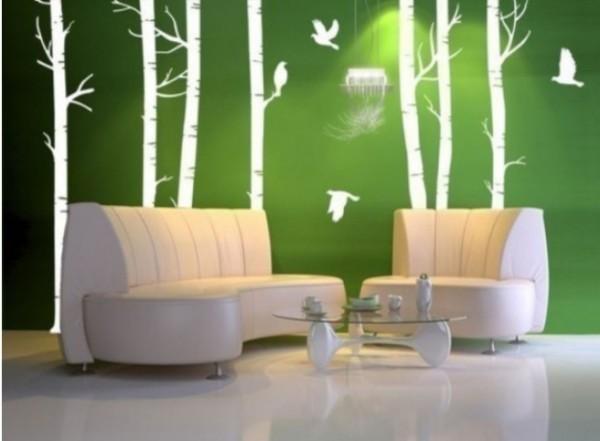 Desain ruang tamu minimalis unsur alam