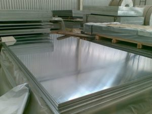 How to clean the protective film of aluminum plate