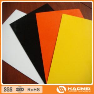 color aluminum sheet manufacturer in China