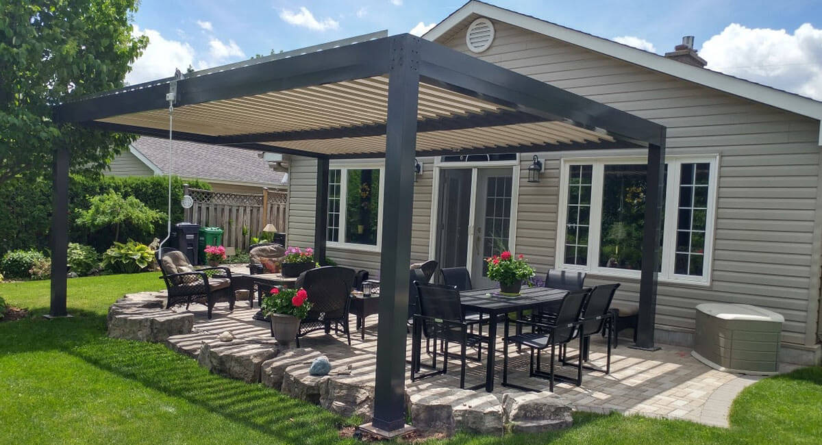 extend your living space with stylish modern pergola on Pergola Modern Design id=19189