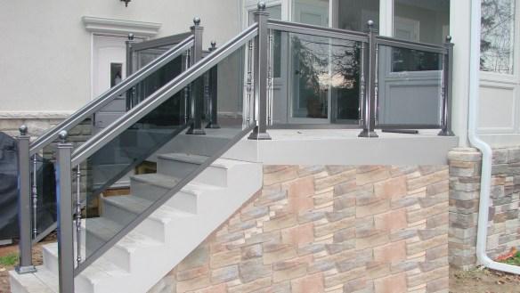 Aluminum Railings in Toronto  Glass Railings  Residential