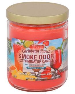 Smoke Odor 13oz Candle Caribbean Punch