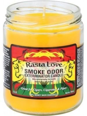 Smoke Odor 13oz Candle Rasta Love