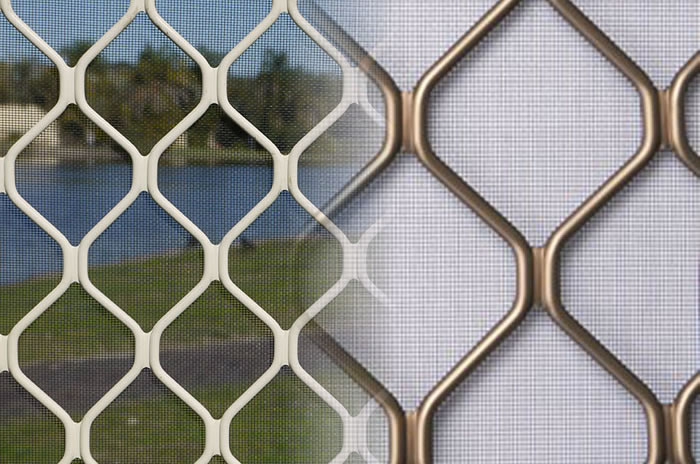 Aluminum Alloy Window Screen Mosquito Netting