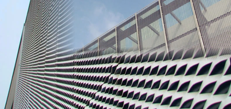 Aluminum Expanded Mesh Sheet For Architectural Cladding And Decoration