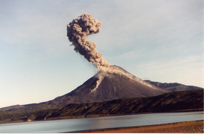 erupção explosiva
