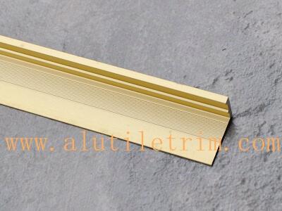 l shaped aluminum tile edging trim