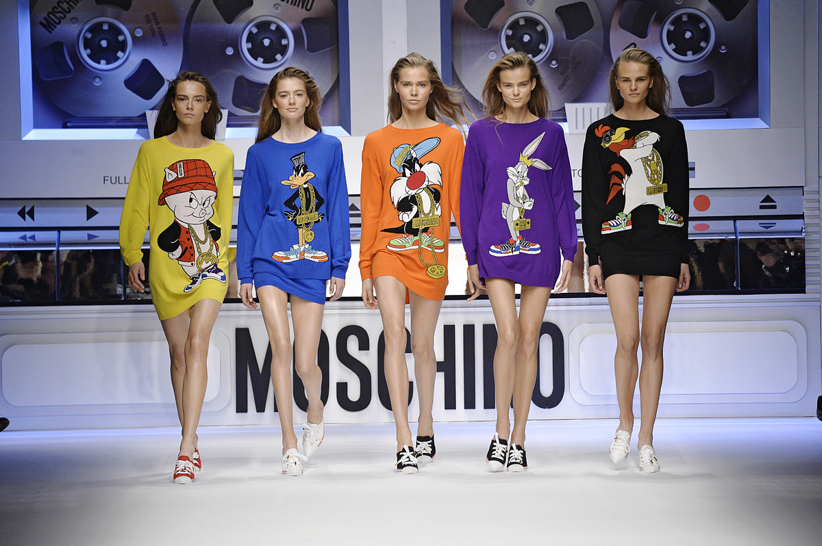 Moschino Looney Tunes Inspired Line Brings Back The 90s