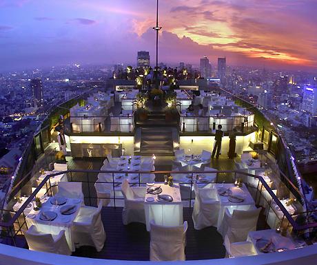 Banyan Tree Bangkok view