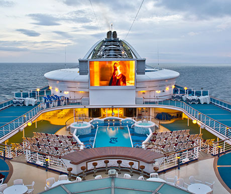 Movies Under the Stars, Grand Princess