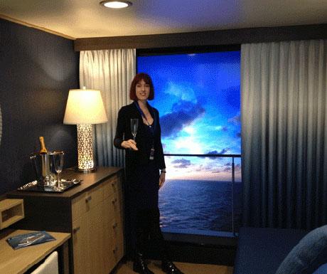 Virtual Balconies, Quantum of the Seas