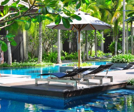 Twinpalms and lagoon pool