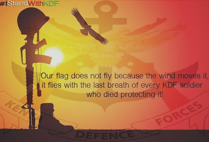 I stand with kdf