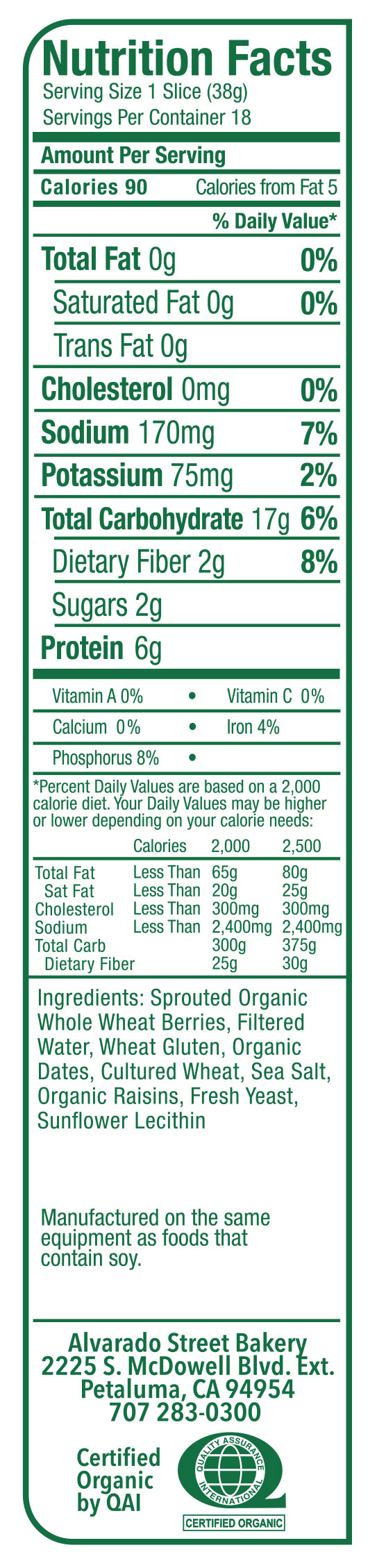recipe: wheat berry nutritional information [19]