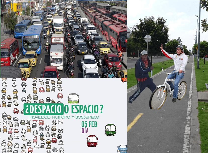 Bogotá – Quince años degustando el transporte sostenible en el 'Día sin Carro'