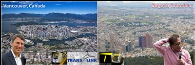 Vancouver: Un ejemplo a seguir para la reingeniería institucional del transporte bogotano