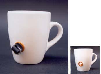Prevenir la taza de café con el robo de la Copa del lock -
