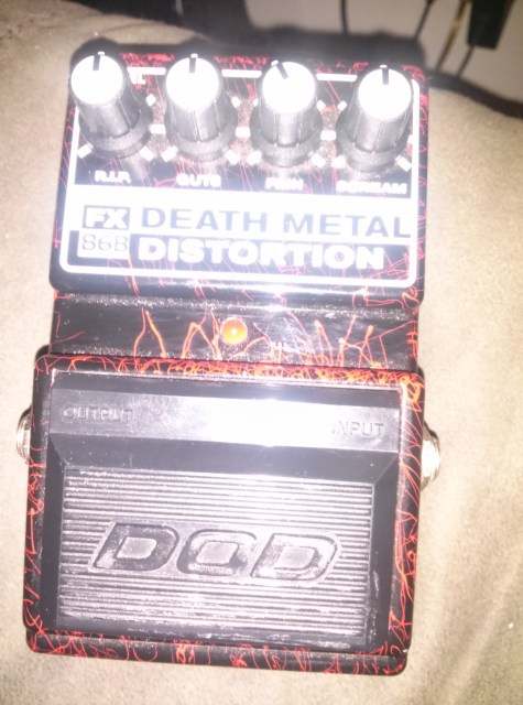 DOD Fx86b Death Metal Distortion