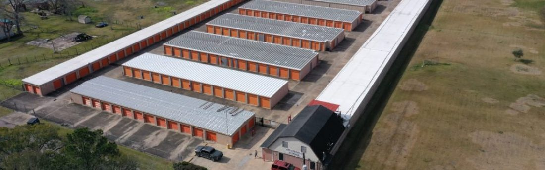 Overhead view of Affordable Storage, Alvin Storage.com