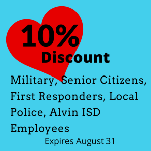 10% off at Affordable Storage in Alvin TX.