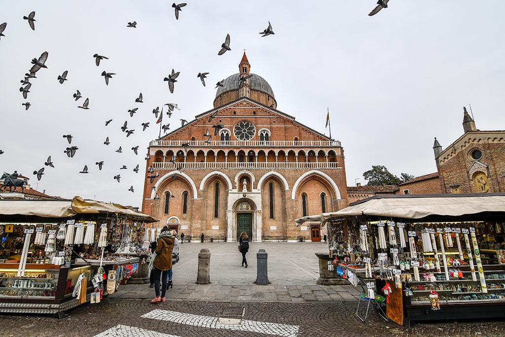 pubblicazione quotidiano la stampa viaggio in italia santo padova sant'antonio basilica