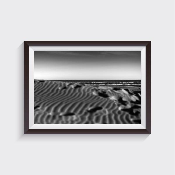 jesolo venice seascape fine art prints shop black and white
