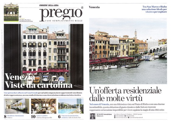 venezia pregio corriere della sera pubblicazione alvise busetto fotografo interni
