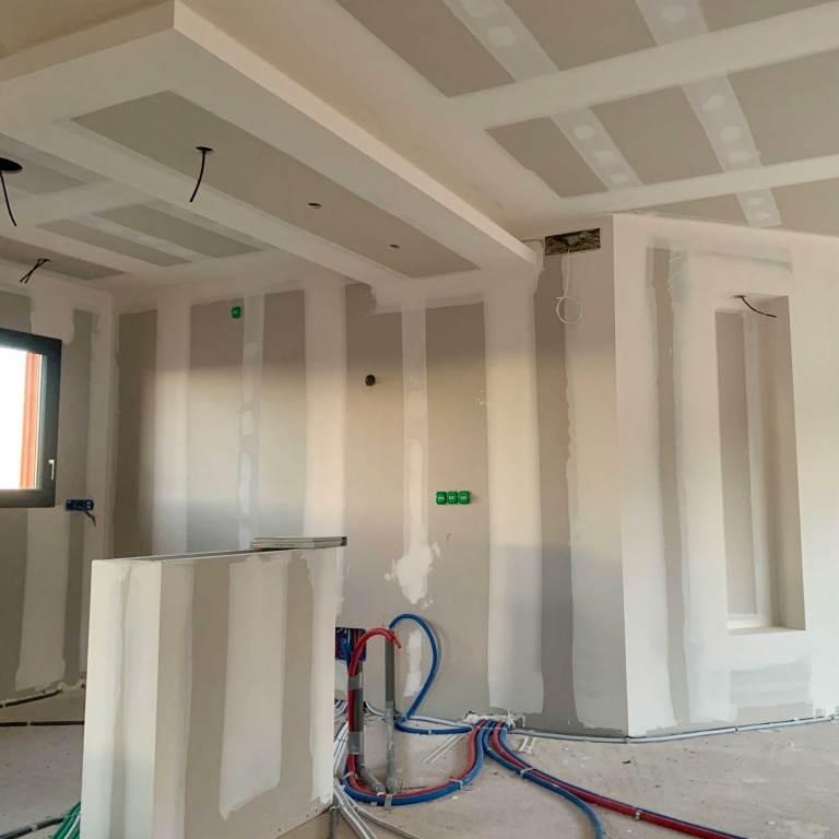 ALVIT PLAQUISTE-Chantier-Villa-Plaquiste-Jointeur-Perpignan-Pyrénées-Orientales-Decoration-Ammeublement