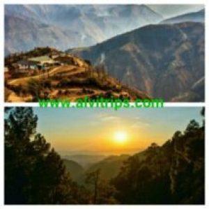 चंबा घाटी के सुंदर दृश्य
