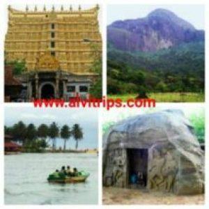 तिरूवनंतपुरम के पर्यटन स्थल के सुंदर दृश्य