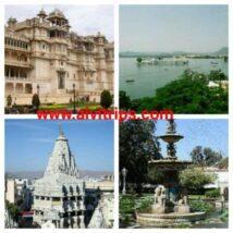 उदयपुर दर्शनीय स्थल - उदयपुर के टॉप 15 पर्यटन स्थल