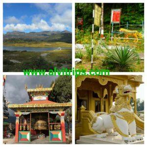 अरूणाचल प्रदेश पर्यटन के सुंदर दृश्य