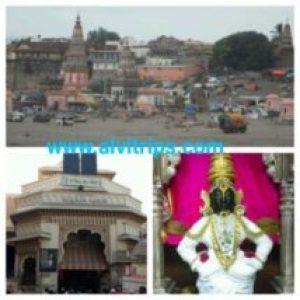 पंढरपुर मंदिर के सुंदर दृश्य