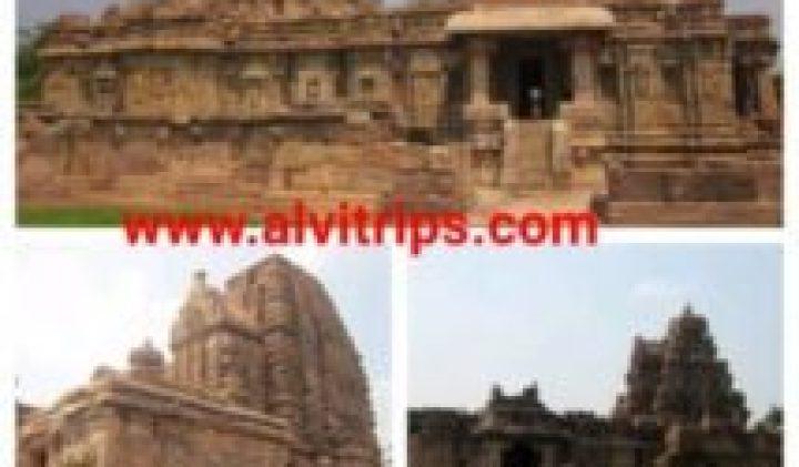 पट्टदकल कर्नाटक के स्मारक परिसरों की जानकारी हिन्दी में