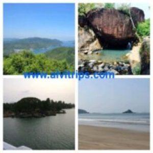 कारवार पर्यटन स्थलों के सुंदर दृश्य