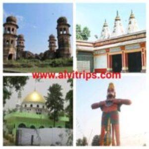 बिजनौर के पर्यटन स्थलों के सुंदर दृश्य
