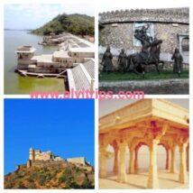 राजसमंद पर्यटन स्थलों के सुंदर दृश्य