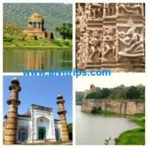 बारां जिले के पर्यटन स्थलों के सुंदर दृश्य