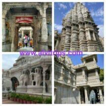 ऋषभदेव मंदिर के सुंदर दृश्य