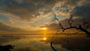 Pemandangan Sunset di Gili Trawangan