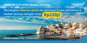 blog contest jadibisa dengan traveloka