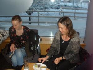 Anna Svensson och Lotta Lauritz.
