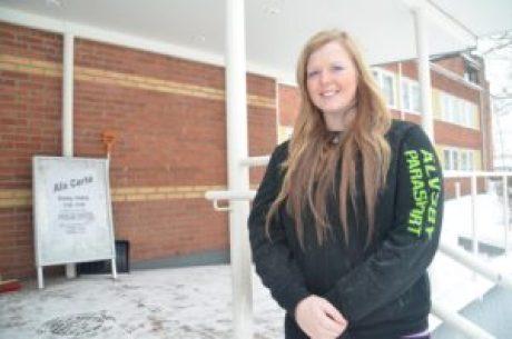 Jämtländska Linda Svensson har också hittat till Älvsbyn.