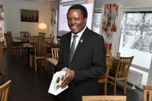 Pascal Ruhomvyumworo, Burundis ambassadör i Norden. FOTO: STERLING NILSSON