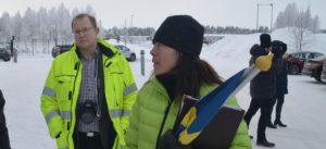 """""""Olja är inte enbart en klimatfråga. Det är också en samhällsfråga. Vad många inte vet är att Ryssland i dag är Sveriges största leverantör av olja"""", berättar Robert Granström, Älvsbyn."""