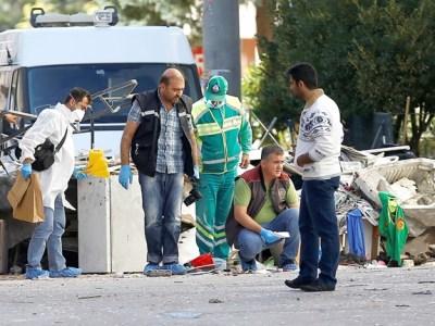 مقتل 3 رجال شرطة في تفجير انتحاري جنوب تركيا