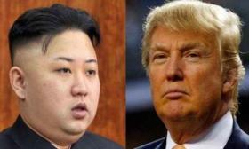 دونالد ترامب و كيم جونغ أون